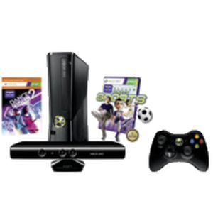 XBox 360 250GB Kinect Holiday Hardware with Kinect Sports